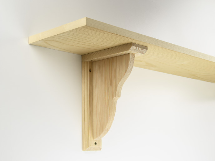 Permalink to how to make simple wooden shelf brackets